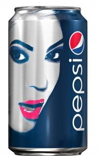 Бейонсе можно снова обнаружить на банках Pepsi.