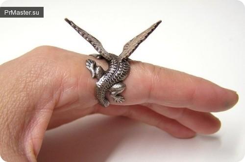 Десять самых удивительных и необычных колец.