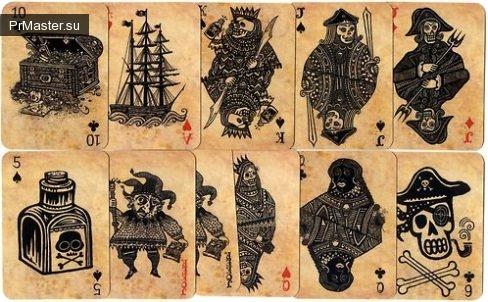Магия игральных карт, та ли это?