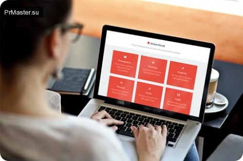 Makerbook – ресурс  бесплатных фотографий, шаблонов, графики, видео