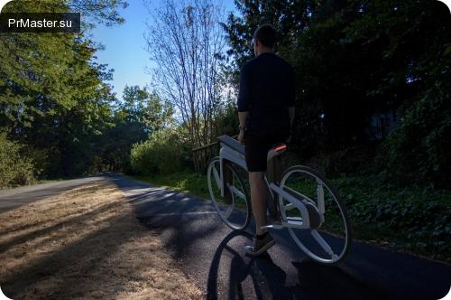 Tesla Model B - это электрический велосипед